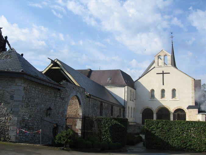 Abbaye de Saint-Rémy, Rochefort, (CC Grentidrez Wikimedia)