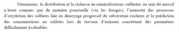 Extrait des conclusions générales du rapport d'étude de faisabilité (p.233)